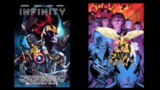 HOT COMICS PLOPCAST #9 w Amy Dallen: X-men State of the Union, Battle of the Atom, Infiniity...