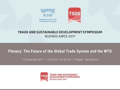 Plenary: The Future of the Global Trade System and the WTO