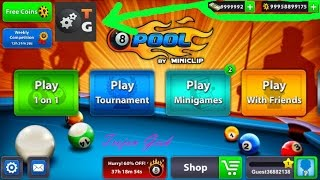 8 Ball Pool Hack Unlimited Coins and Dollar | 2017 | Game Killer