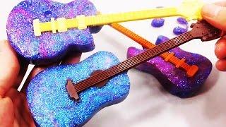 Конфеты гитары! Как сделать? Обучающие и развивающие мультики, обзоры детских игрушек