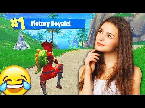 I Got TROLLED By A GIRL GAMER In Fortnite: Battle Royale! 😂