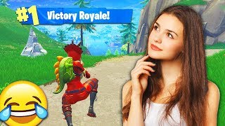 I Got TROLLED by a GIRL GAMER in Fortnite: Battle Royale! 😂
