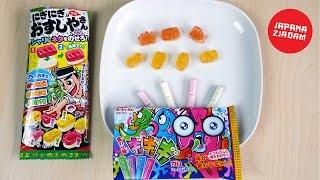 Żelki sushi i gumy zmieniające smak - JAPANA zjadam #94