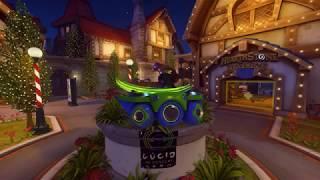Overwatchleague-Emote DJ Lucio in the House - Blizzard World Winter 2018 (Overwatch)