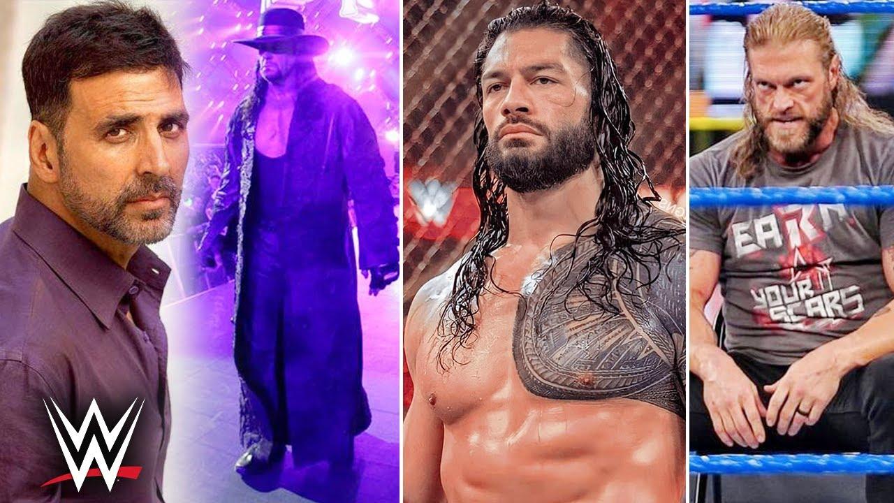 Akshay Kumar Hilarious Undertaker Comment😜.. Roman Reigns Warning, NXT TakeOver, Edge SummerSlam