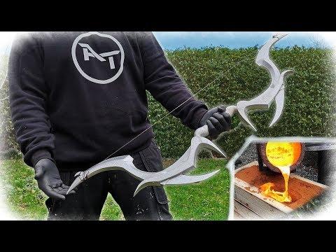 Casting Aluminum BOW - Deadric Bow (Skyrim)