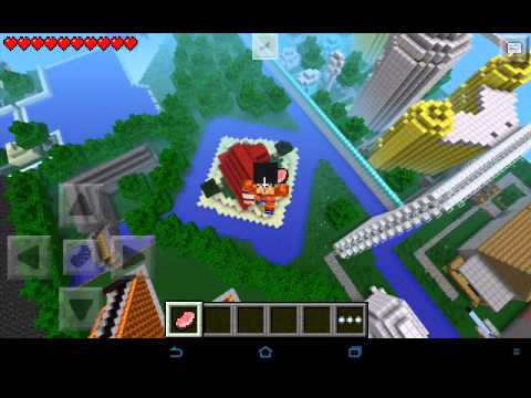 Mapa Dragon Ball Z Minecraft PE