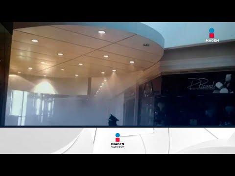 Se incendia tienda en Plaza Centro Coyoacán | Noticias con Ciro Gómez Leyva