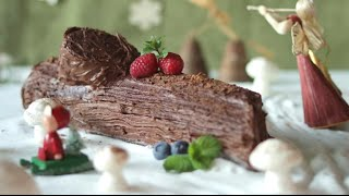 Christmas Yule log recipe - Allrecipes.co.uk