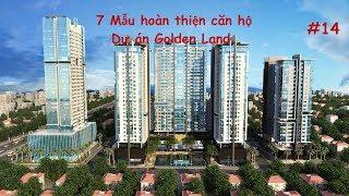 7 Mẫu hoàn thiện căn hộ tại dự án Golden Land