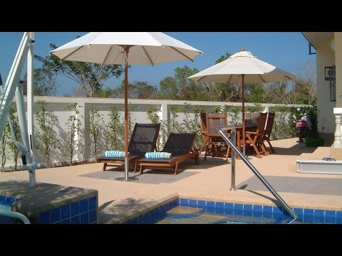 Wheelchair accessible Pool villa Coconut Grove Hua Hin Thailand