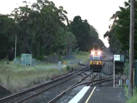 NSW TRAINS FROM HIGHLANDS TO THE COAST