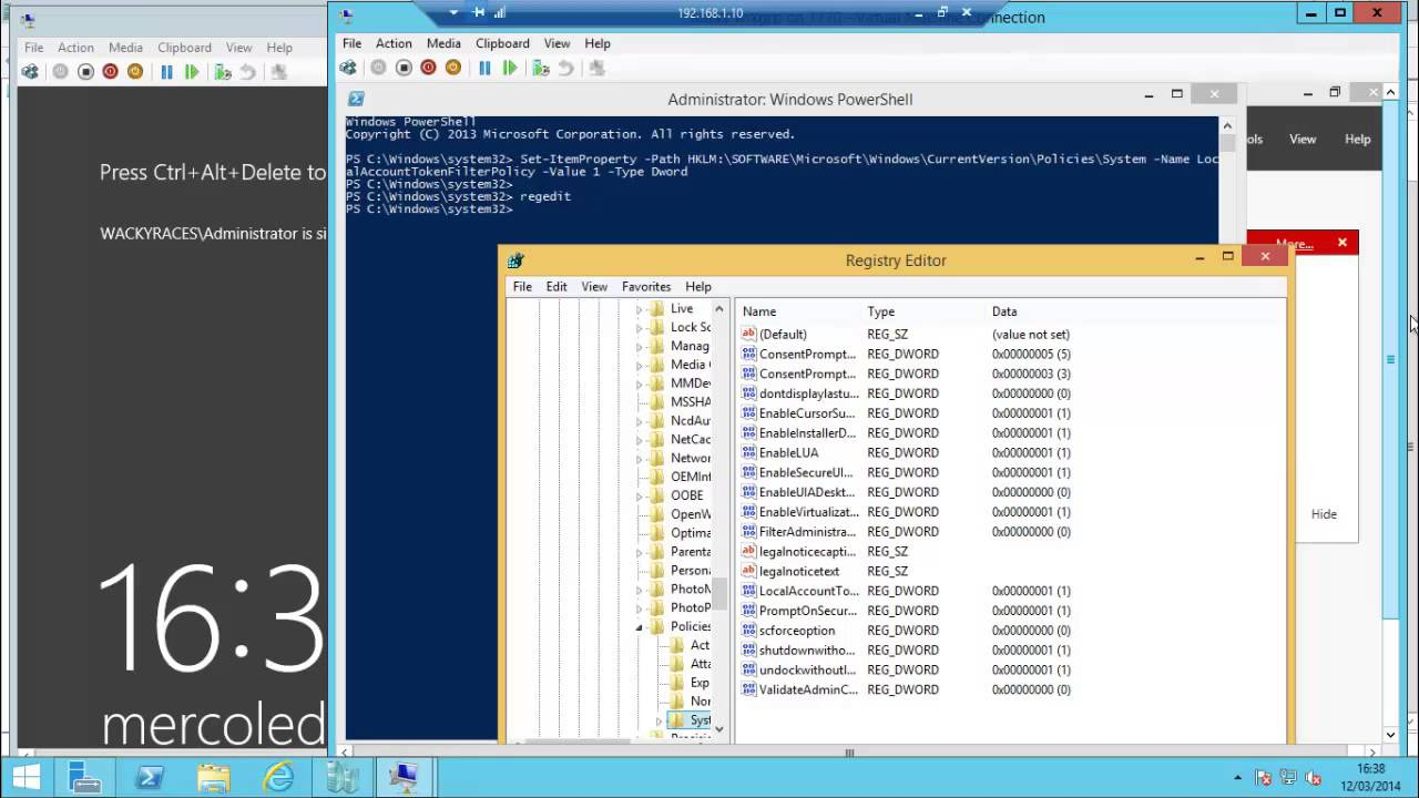 How to use RSAT on a not domain-joined Windows 8 1 client