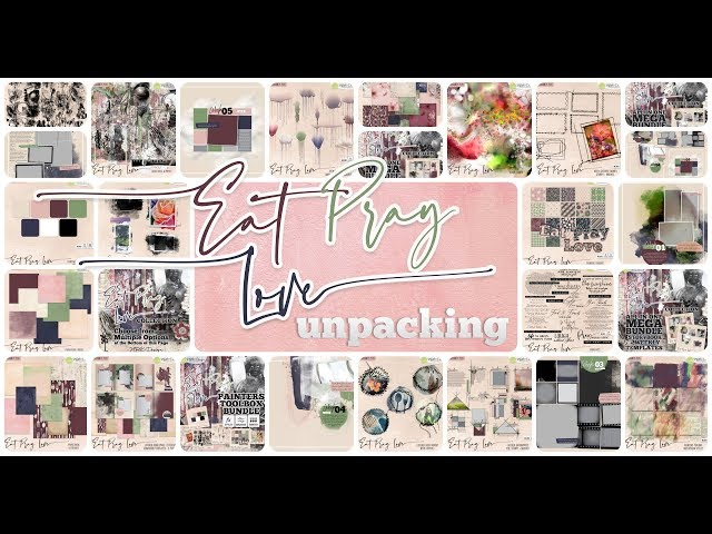 Eat Pray Love Collection - UNPACKING -  by NBK-Design