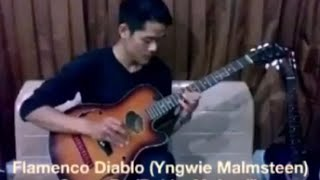 Flamenco Diablo #Yngwiemalmsteen cover by #Rekkymulyadi