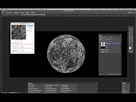 TUTORIAL 12:  PHOTOSHOP -  PART 1: Making a planet