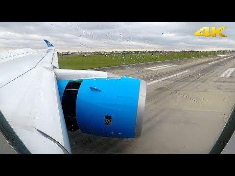 Air Caraibes Airbus A350-900XWB Windy Approach & CROSSWIND LANDING in Paris Orly!! ENGINE VIEW
