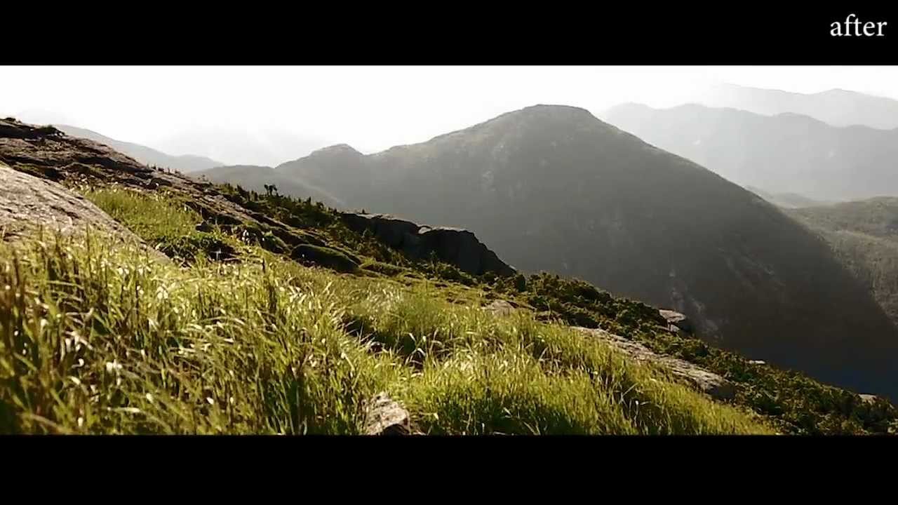 Cinematic Film Look with Adobe Premiere Pro CS6 Test