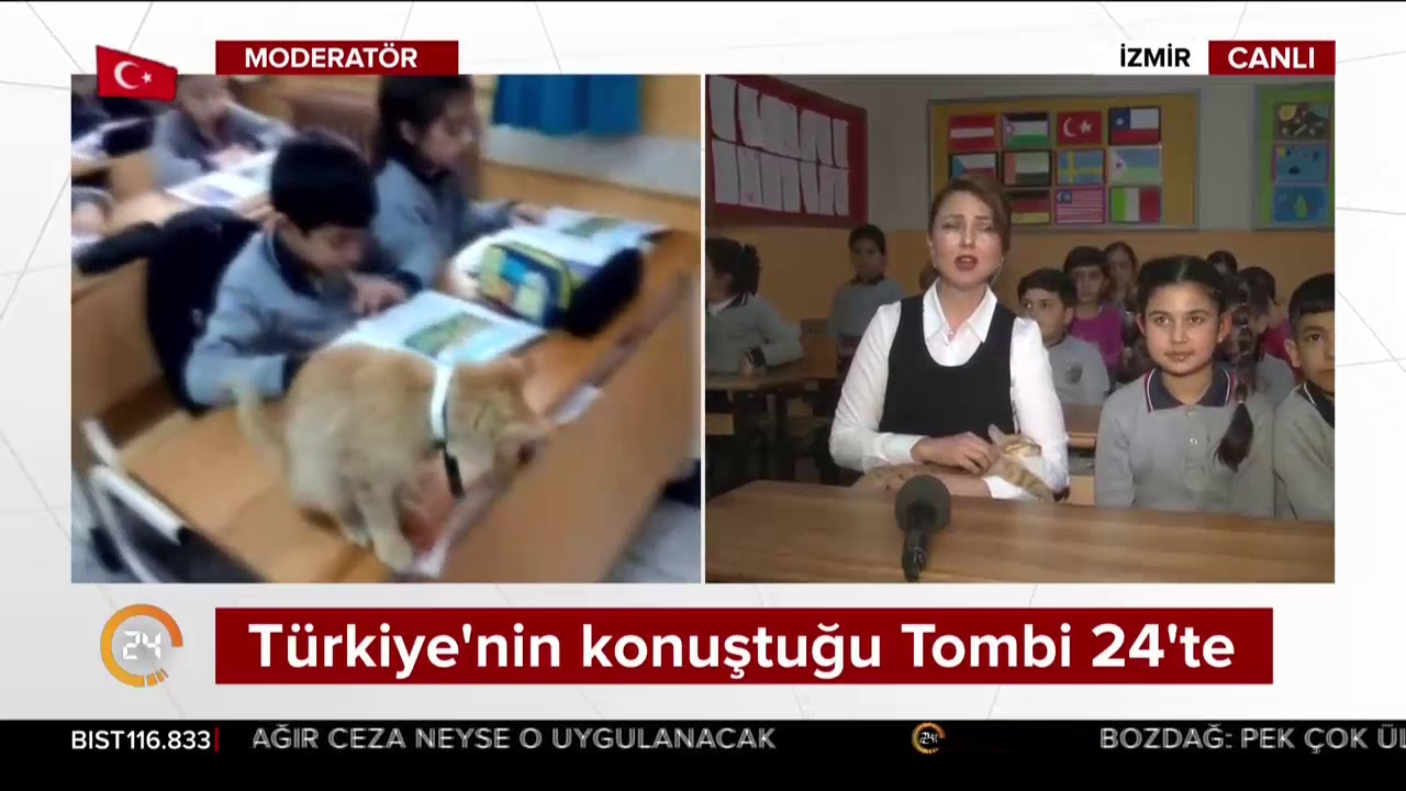 Türkiye'nin konuştuğu Tombi 24 TV'de