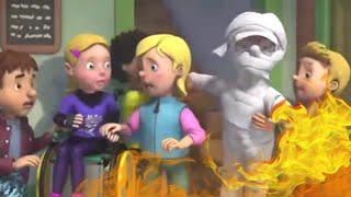 Пожарный Сэм на русском 🔥 Хэллоуин вечеринка 🚒 Эпизоды Компиляция | Новые серии 🔥 мультфильм
