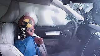 2019 Volvo XC40 side impact crash test