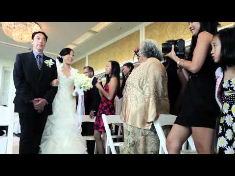 Claremont Hotel and Spa, Berkeley, CA wedding same day edit video