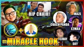 MIRACLE HOOK IS REAL! COACH PEIN VS COACH PANDA! NADAMAY PA NGA YUNG UPUAN HAHA!   FRANCO GAMEPLAY