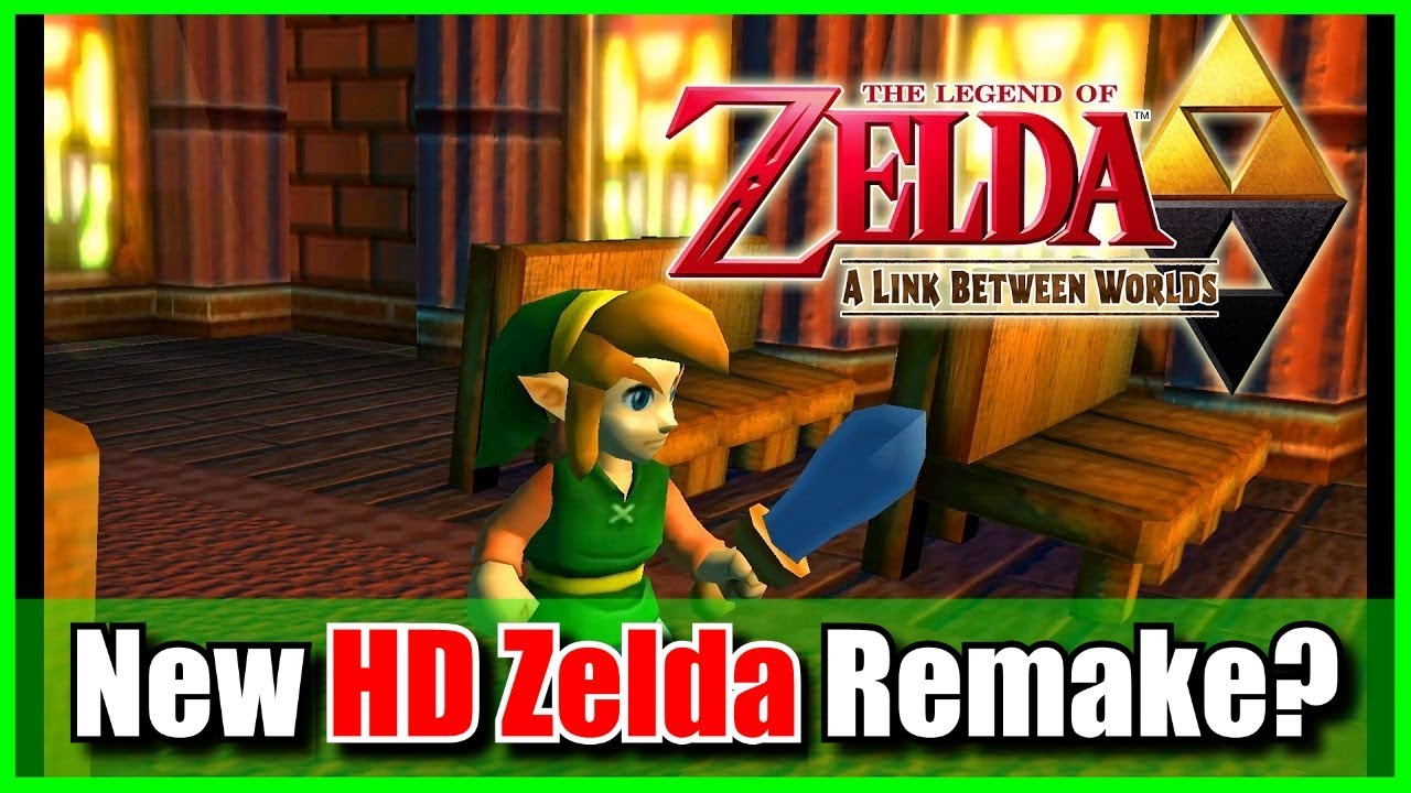 A Link Between Worlds HD Remake for Nintendo Switch | RUMOR