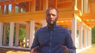 видео Строительство каркасных домов во Владимире и области