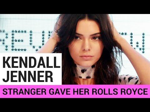 Kendall Jenner Gets Rolls Royce From STRANGER For 21st Birthday!