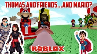 Roblox: THOMAS AND FRIENDS? TOMY TRACKMASTER?!