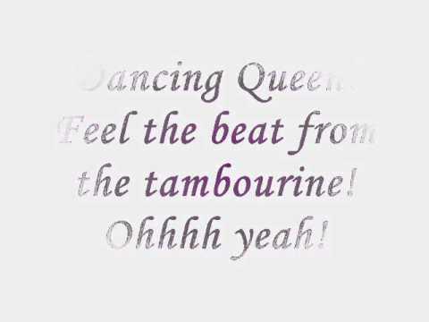 (Mamma Mia) - Dancing Queen Lyrics
