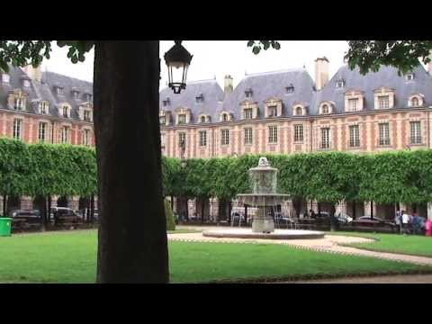 Place des Vosges (the oldest planned square in Paris), France
