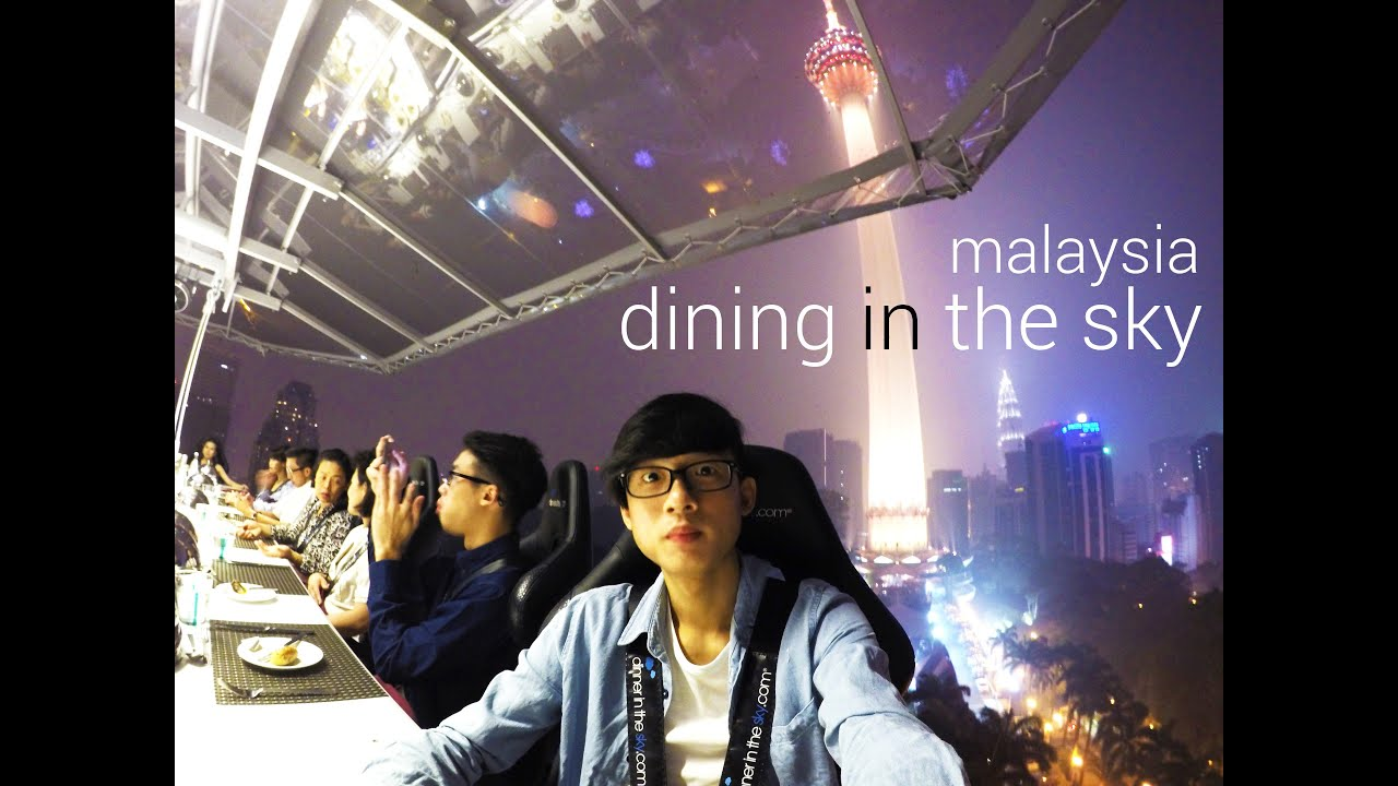 Dinner In The Sky Malaysia KL In K YouTube - Dinner in the sky an unforgettable experience