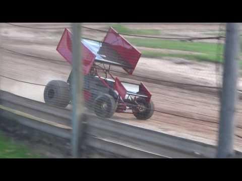 Paradise Speedway Brandyn Griffin 305 practice 1 8/2/17