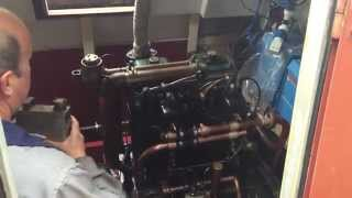 1942 K2 Kelvin Engine. 8 1/4 Litre - 2 Cylinders.