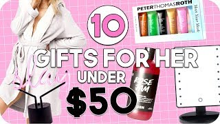 Gift Guide For Her Under $50! Gifts For All Ages!