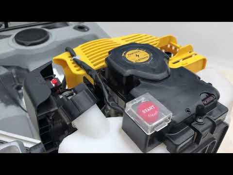 145- MOTOR JET TURBO PE (Partida Elétrica) - AMARELO