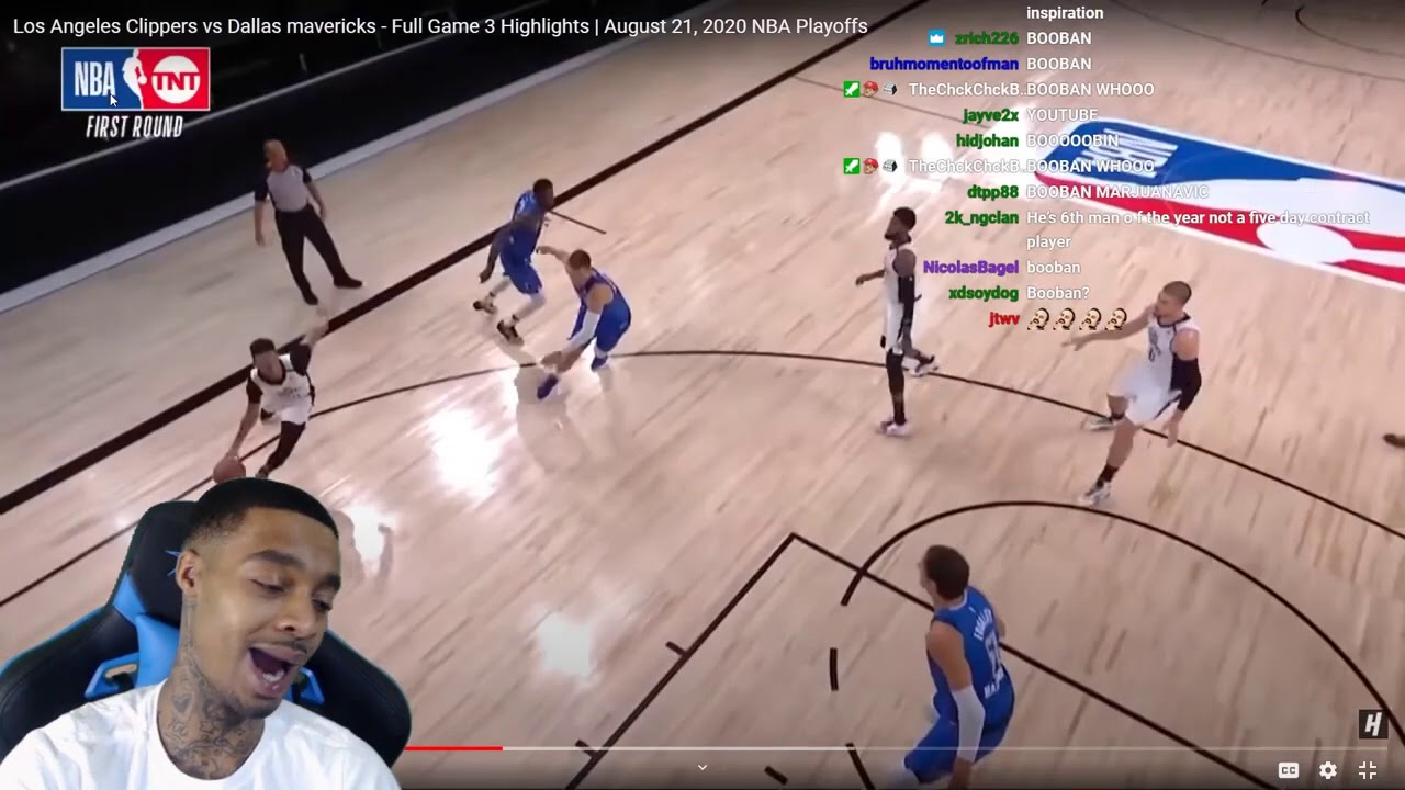 FlightReacts Clippers vs Dallas mavericks - Full Game 3 Highlights   August  21, 2020 NBA Playoffs! - YouTube