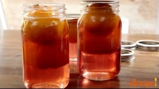 Peach Recipes - How To Make Pickled Peaches