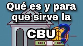 #1 - ¿Que es una CBU y para que Sirve? (utilizando Online banking)