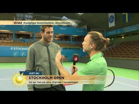 """""""Coolast namnet i Stockholm Open i år"""" - Nyhetsmorgon (TV4)"""