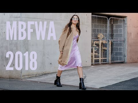 SYDNEY FASHION WEEK 2018 | VLOG