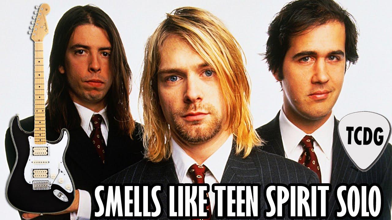 Como Tocar El Solo De Smells Like Teen Spirit En Guitarra Eléctrica Nirvana Tcdg Youtube