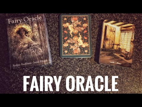 Arthur Rackham's Fairy Oracle - Unboxing & Walkthrough