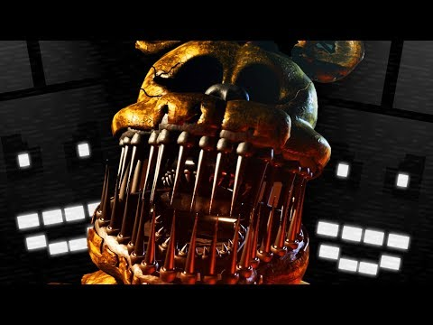 SECRET FREDBEAR BOSSFIGHT!  Five Nights at Freddys 8BIT REVAMPED