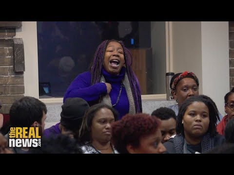 Outrage at Baltimore School Board Meeting Over Freezing Classrooms