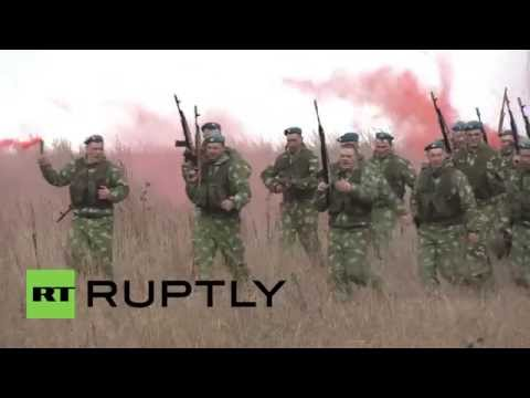Russia: Airborne forces commemorate the victory of the Red Army in WWII