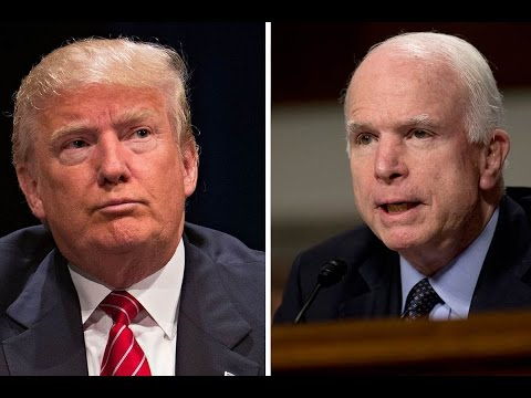 JOHN MCCAIN RIPS TRUMP MUSLIM IMMIGRATION BAN: McCain and Lindsey Graham Attack Trump