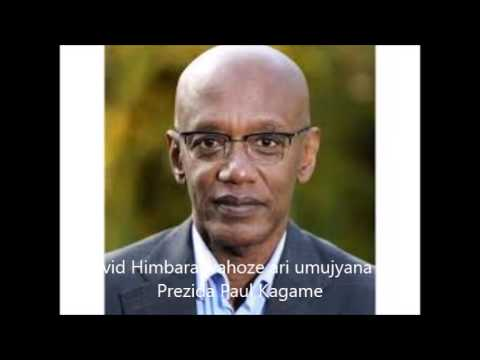 David Himbara arasobanura uko FDU yafata ubutegetsi mu Rwanda